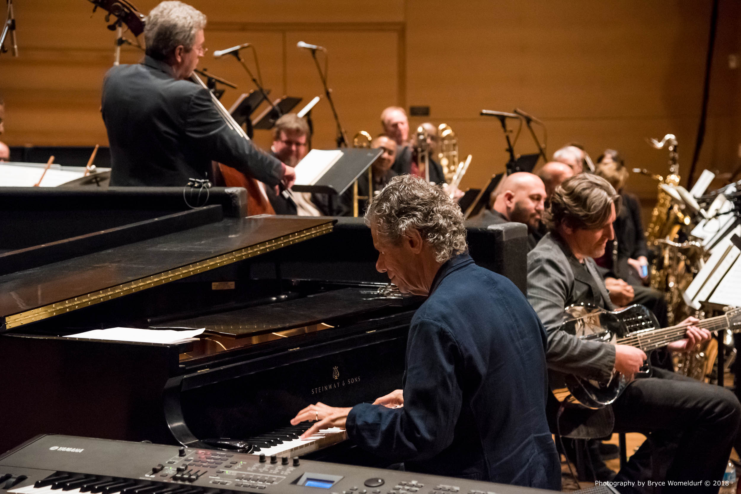 Jazz legend Chick Corea performs at the USF Concert Hall