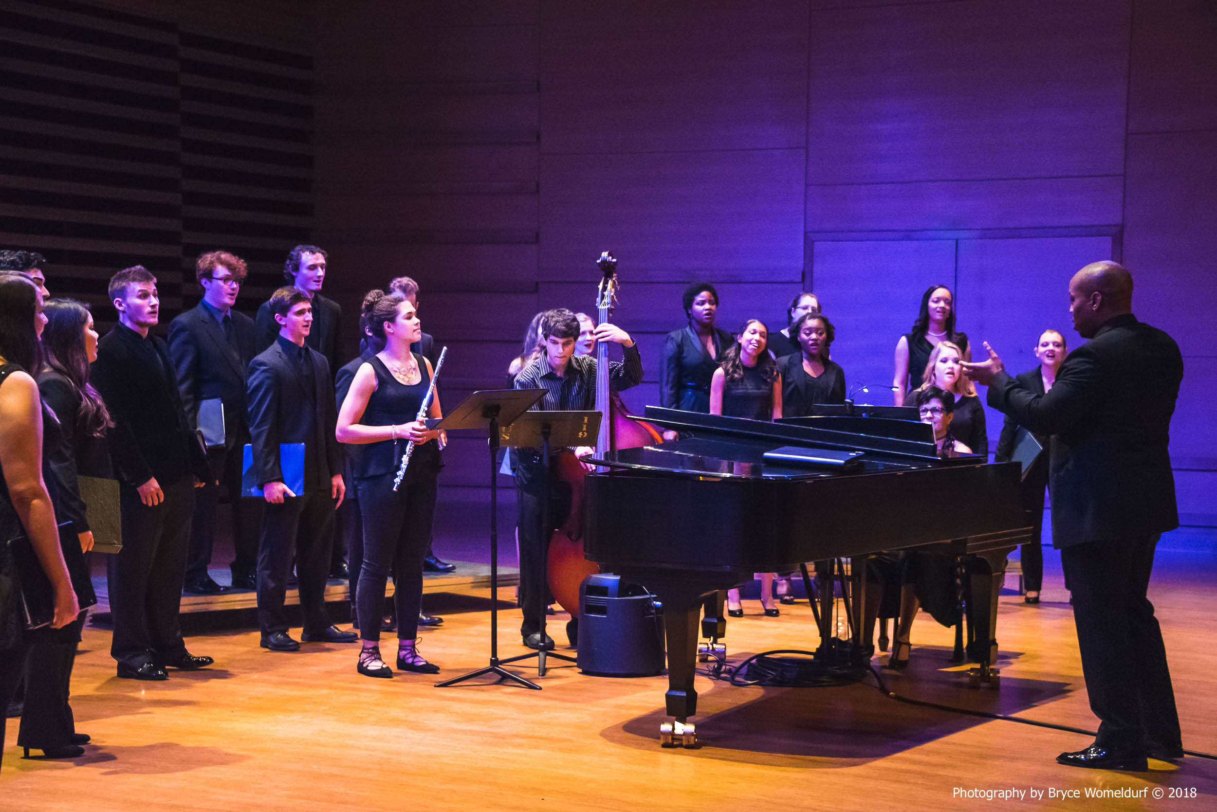 USF Choral performance at USF Concert Hall