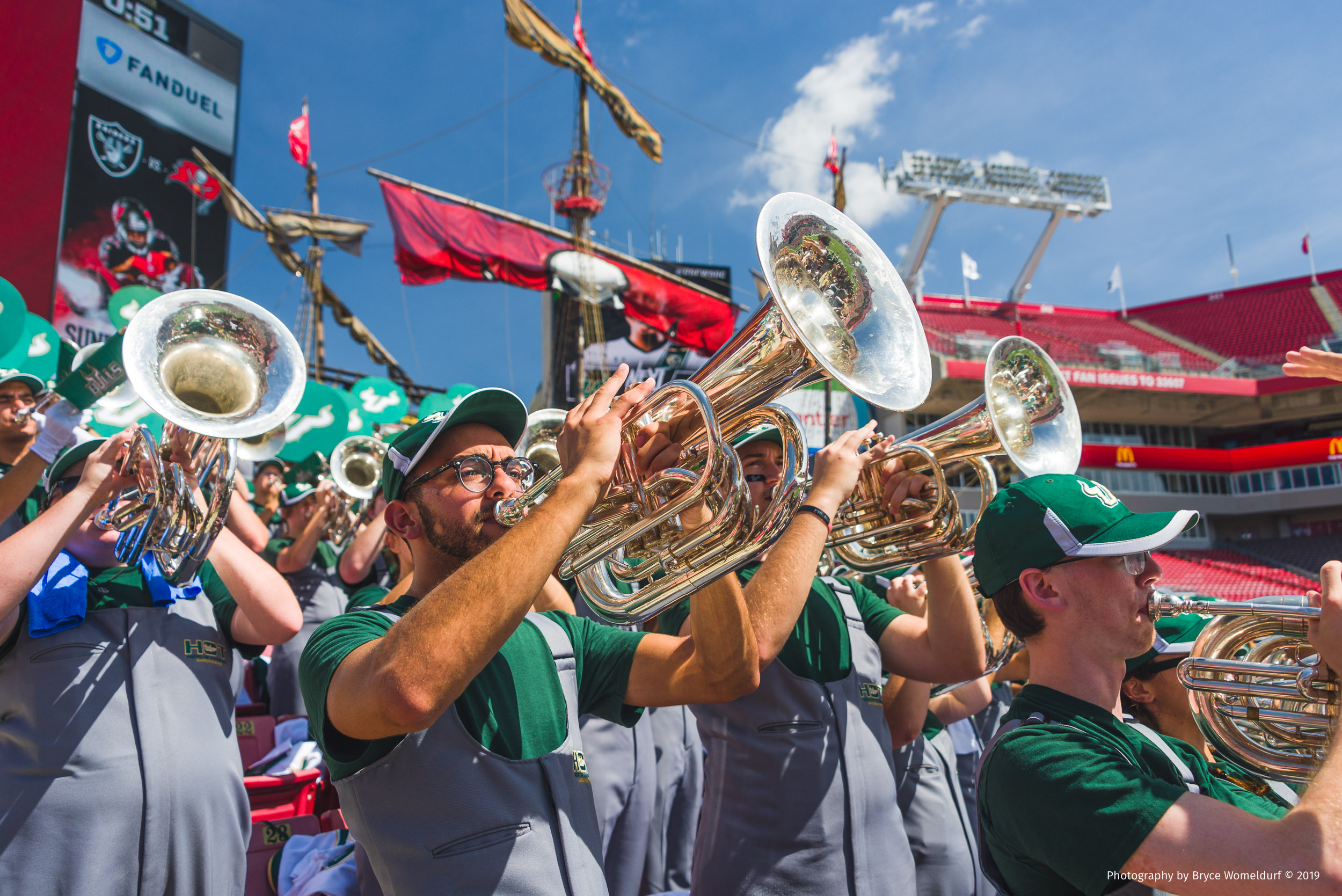 USF Herd of Thunder at Homecoming 2016