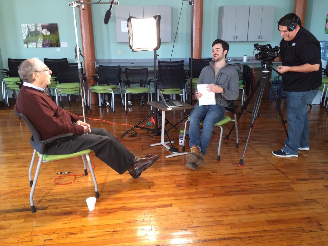 Dustin interviews legendary New York Times sportswriter and former ESPN ombudsman, Robert Lipsyte.