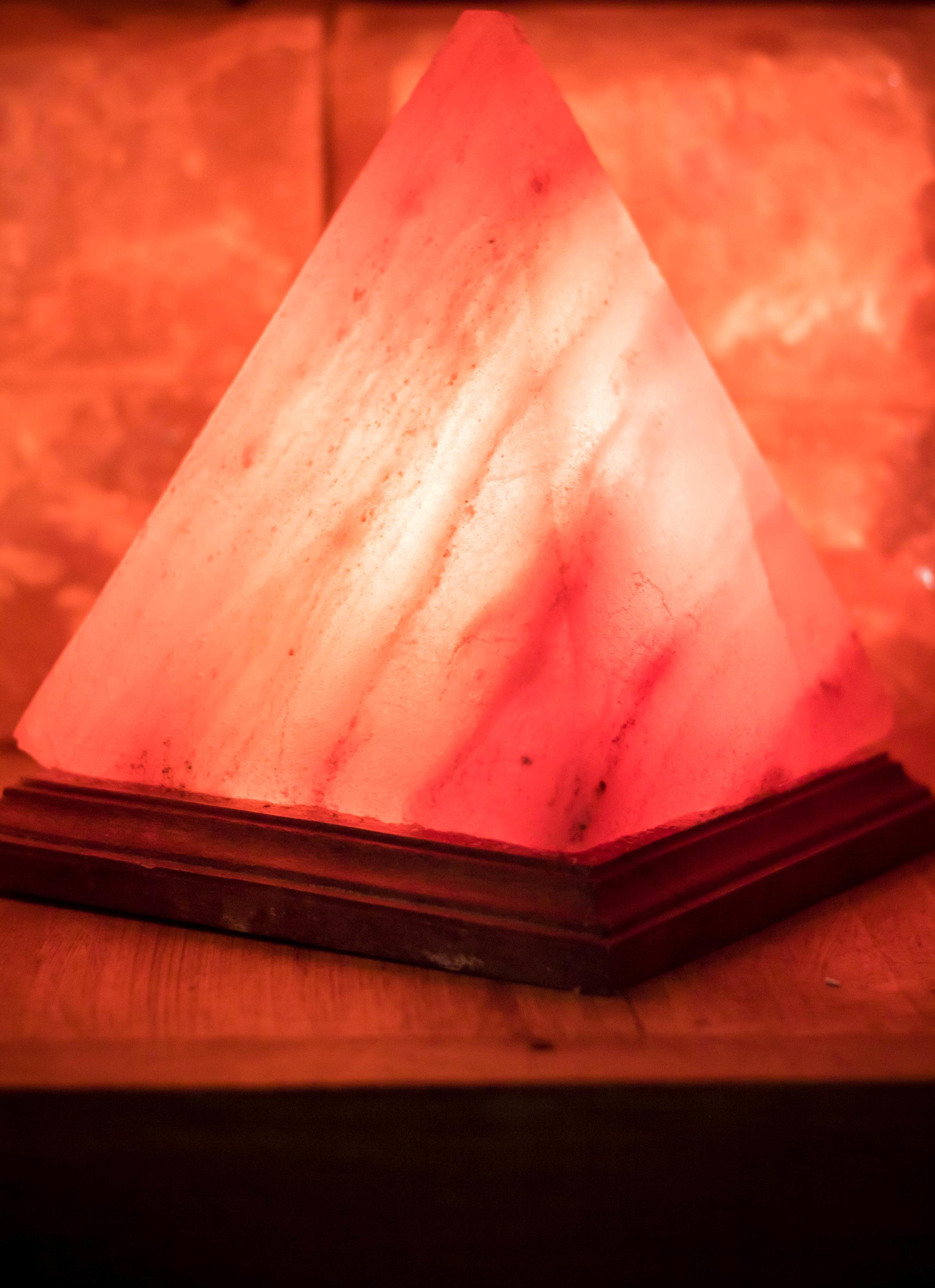 Himalayan Salt Lamp (Pyramid)