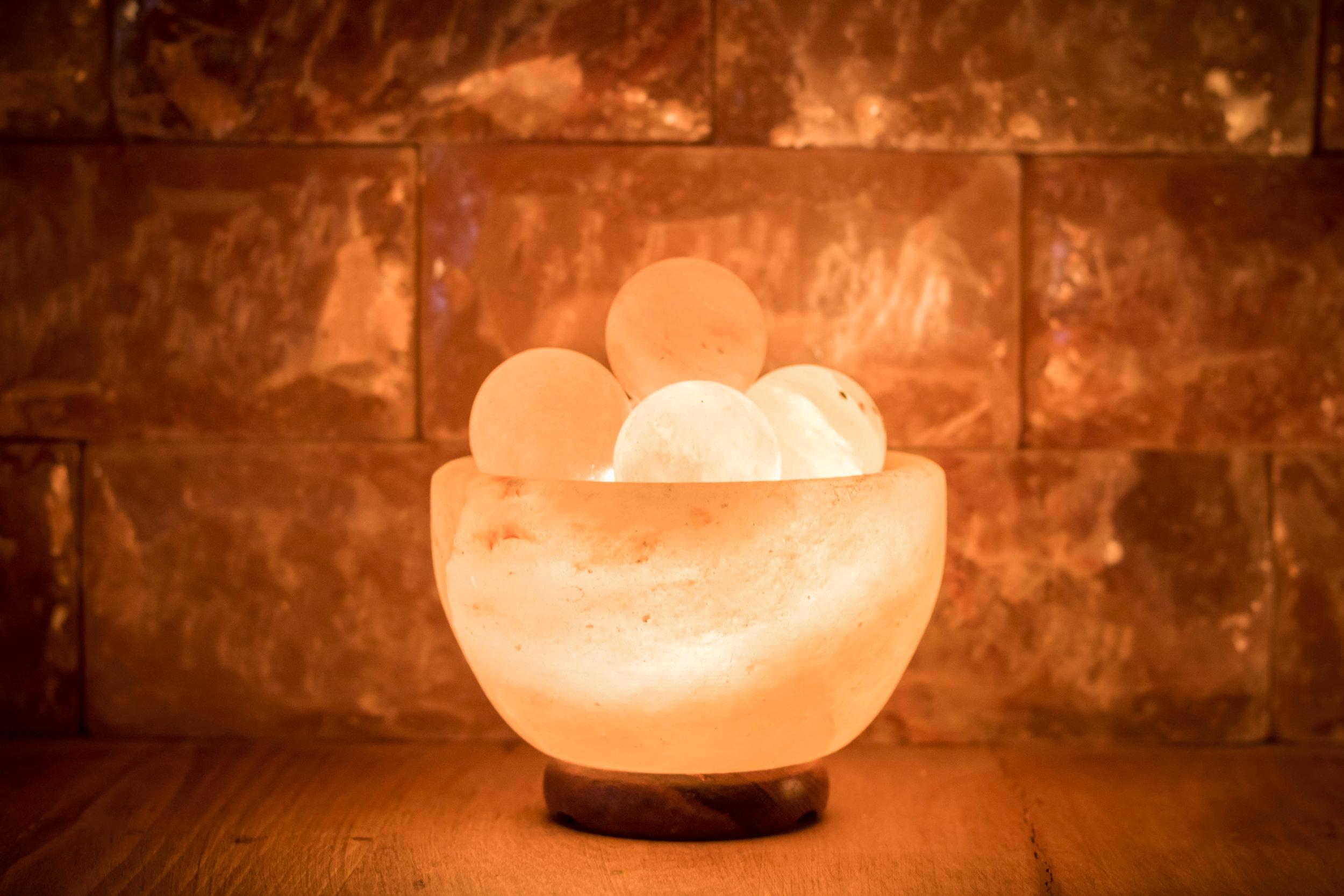 Himalayan Salt Lamp (Abundance Bowl)