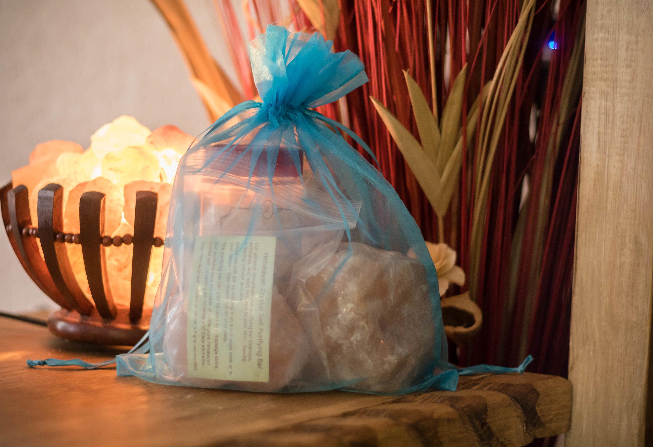 Himalayan Salt Rock Spa Package