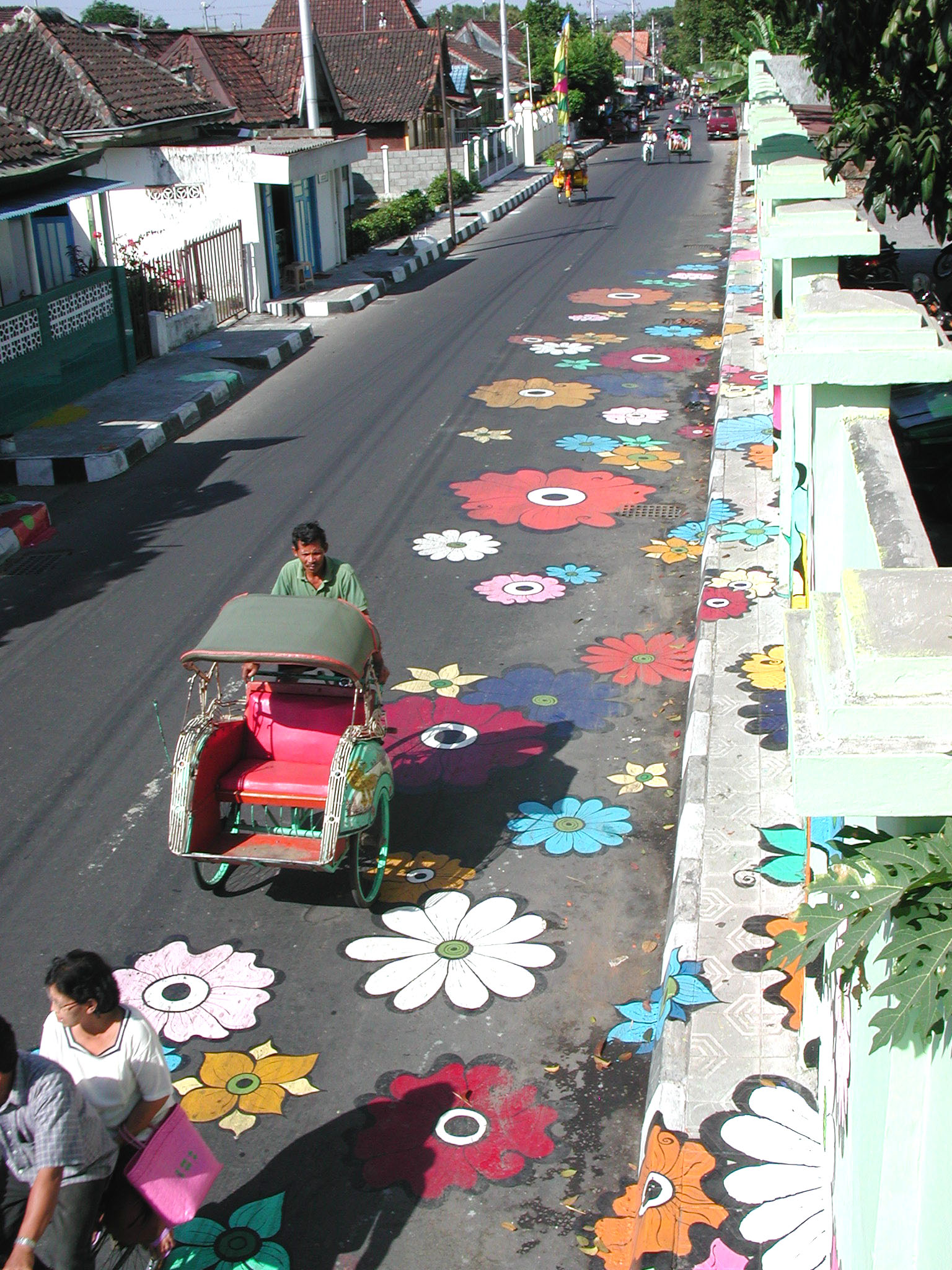 Megan -- mural from above looking down Jl Ireda.jpg