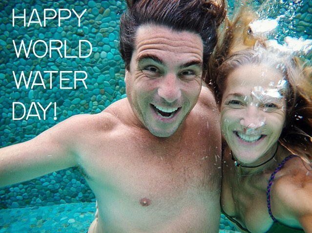 Today and every day is World Water Day  #water #worldwaterday  #waterconservation  #precipitatingchange #adventure  #travel #dynamicduo  #skysourcewater