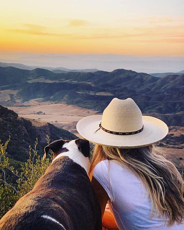 So many sunsets together @naludoggie  #sunsets  #californiagold #dogsofinstagram #agirlsbestfriend #rescuedogs #Malibu #xanabu #santamonicamountains #sistergoldenhairsurprise #ventura 📸@lensviews