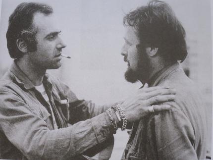 Jean-Christophe Ammann and Harald Szeemann.  Photo: Till Spiro, Kassel