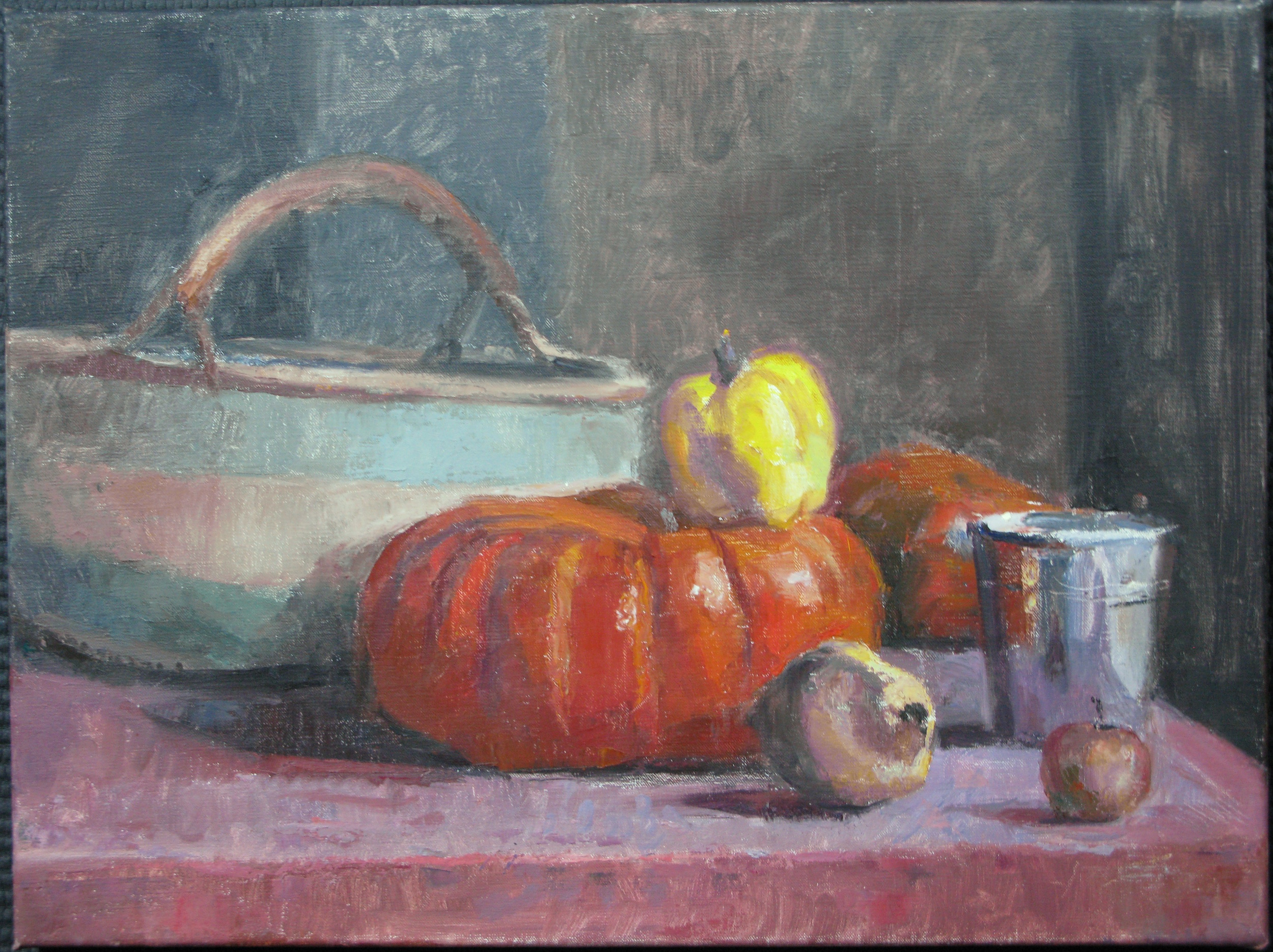 Vincelles Still Life, 18 x 24 inches
