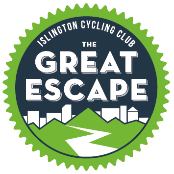 The Great Escape - Sunday, 19 May 2019The 200km route will take you from the heart of London to the rolling countryside of Essex and back via quiet roads and picturesque villages. There are two great rest stops at Great Bardfield (the Knead Café at The Blue Egg) and at Great Dunmow.