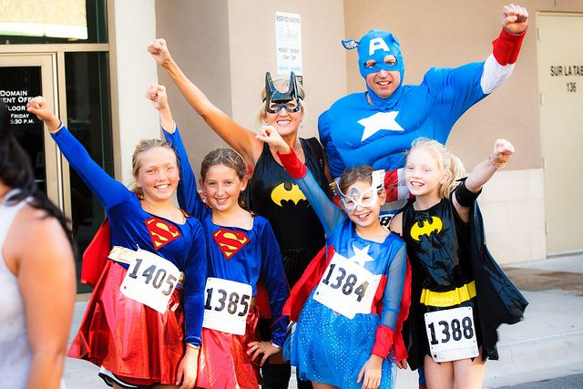 Superhero 5K Course Map -
