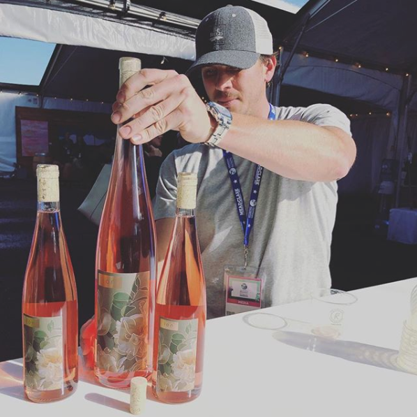 Winemaking & Philosophy - Obsessed with all things wine and an experienced winemaker for the last decade, Benjamin Flajnik prides himself on crafting drinkable dry rosé wine. He started ion because rosé wine is fun, light and in his opinion,