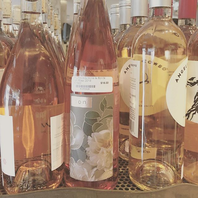 Proud to announce that our 2018 rosé is now available @plumpjackwineandspirits on Fillmore St. in San Francisco. $16 bucks a bottle is a steal! #roséallday #roséwine #plumpjack