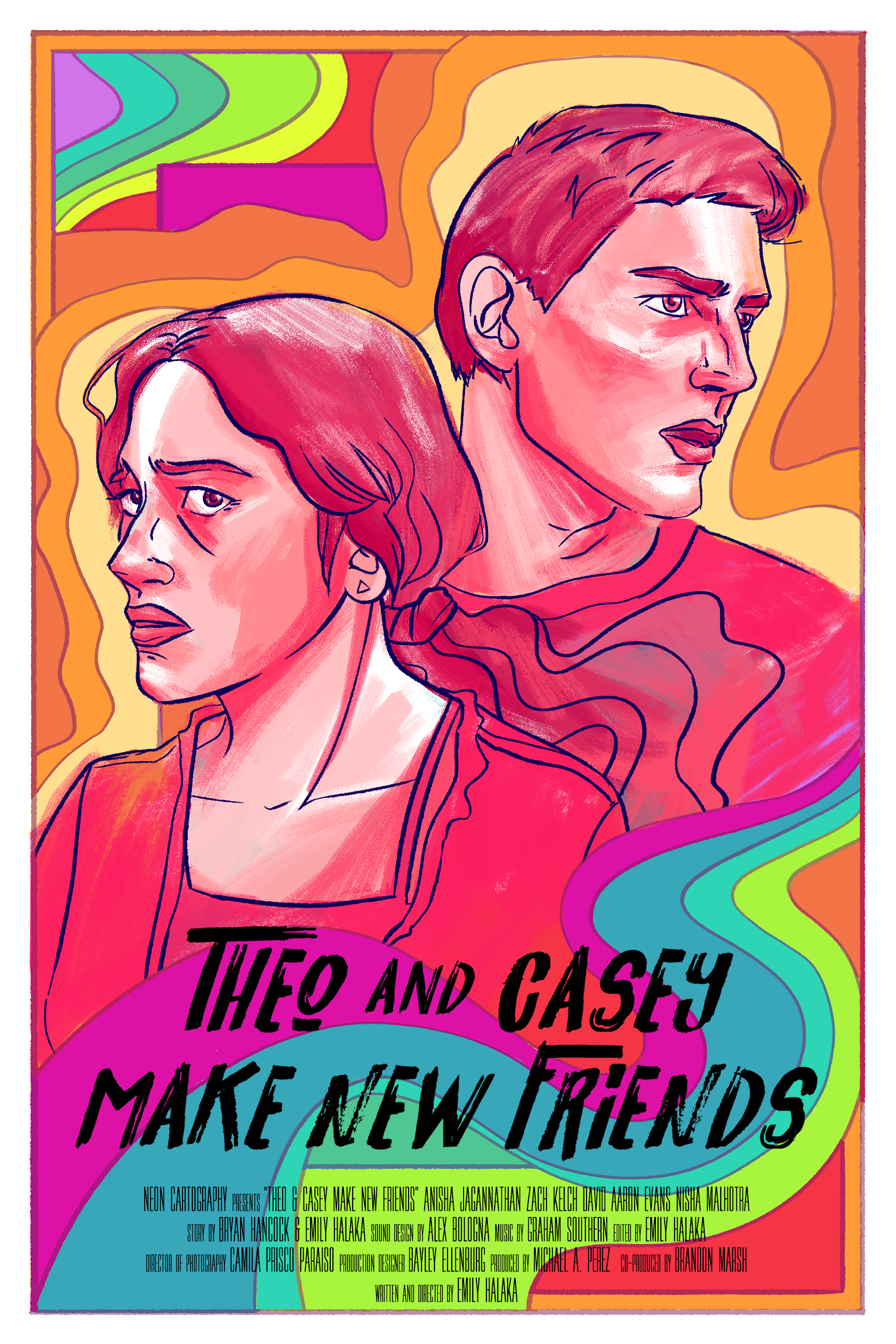 Theo and Casey Make New Friends - Directed by Emily HalakaCinematographer