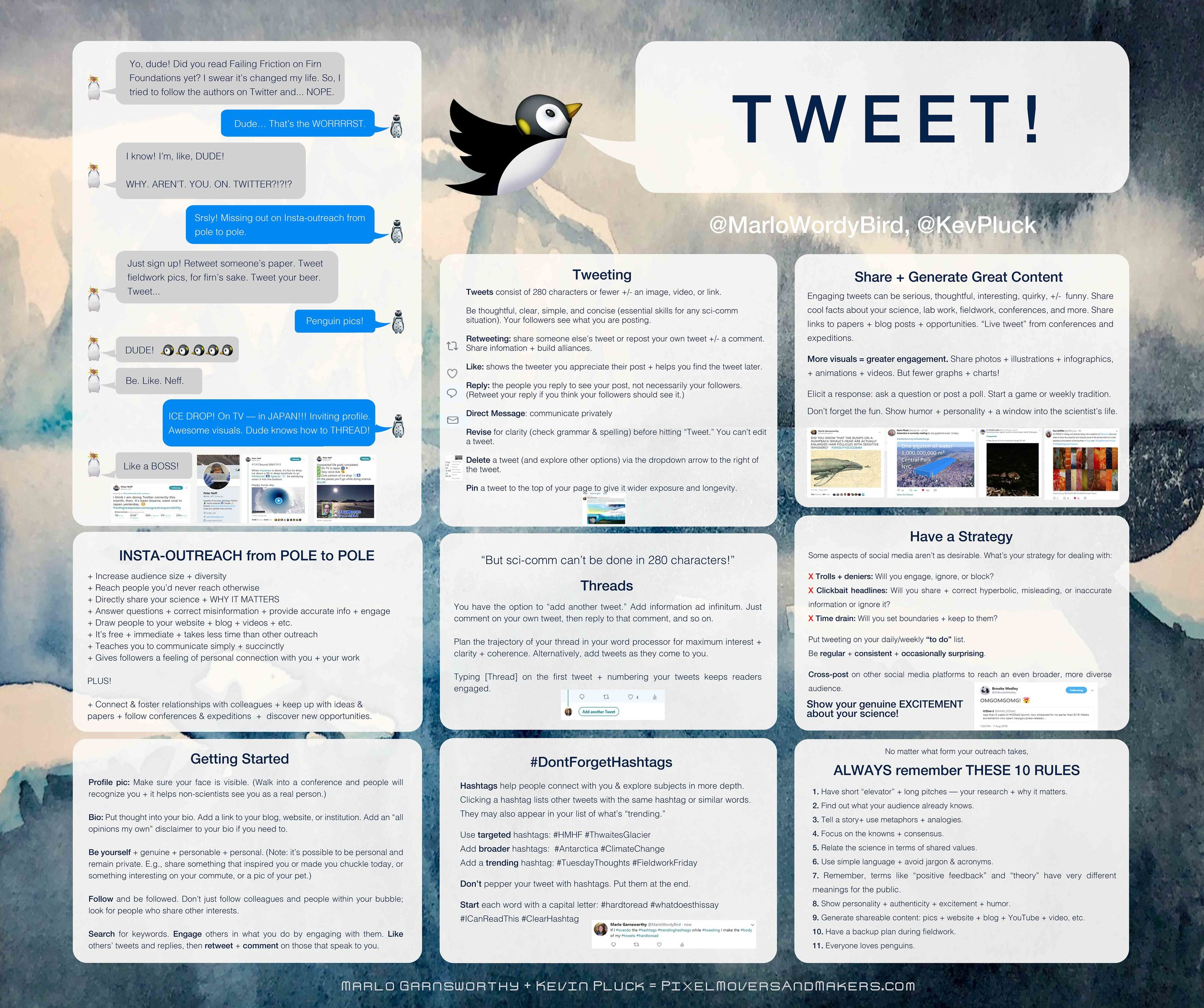 TWEET: Poster for WAIS Workshop 2018