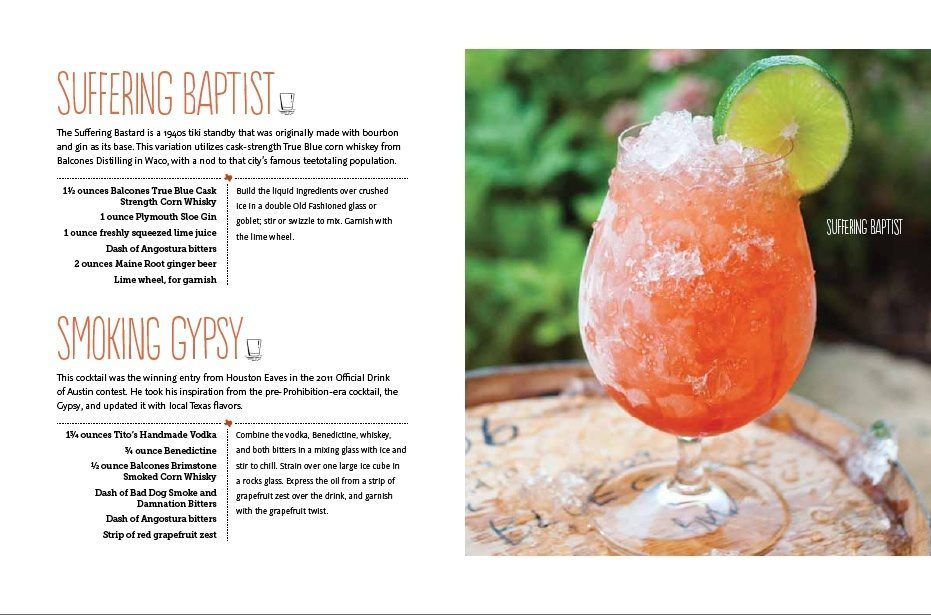 "A look inside the ""Tipsy Texan"" by David Alan."
