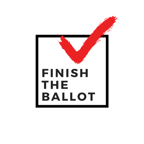 Logo Finish the Ballot Black.png