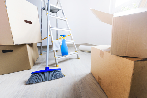 We Have a Solution! - Hire us to help take the dirty burden of cleaning off your plate, so you can focus on new beginnings, unpacking and enjoying your new home.