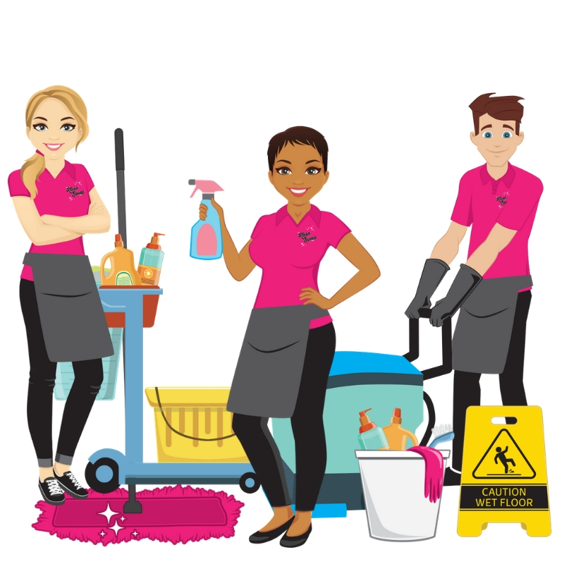 Hire for Integrity, Train for Skill - Our team is made up of really great people who are trustworthy, kind, happy and have a high integrity for their work. Each person goes through a rigorous background and drug test screening, meticulous interviewing process and extensive training. They are motivated and measured to bring you the best professional cleaning specialist around town.