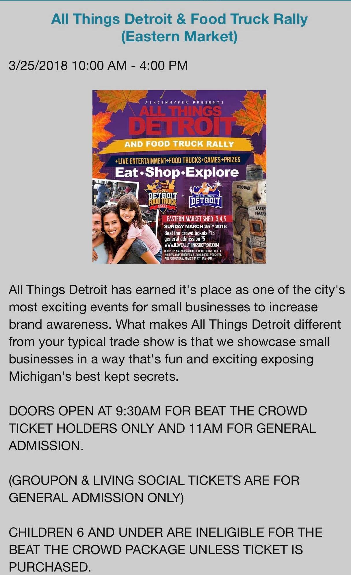 Eastern Market Corporation   2934 Russell St, Detroit, Michigan 48207