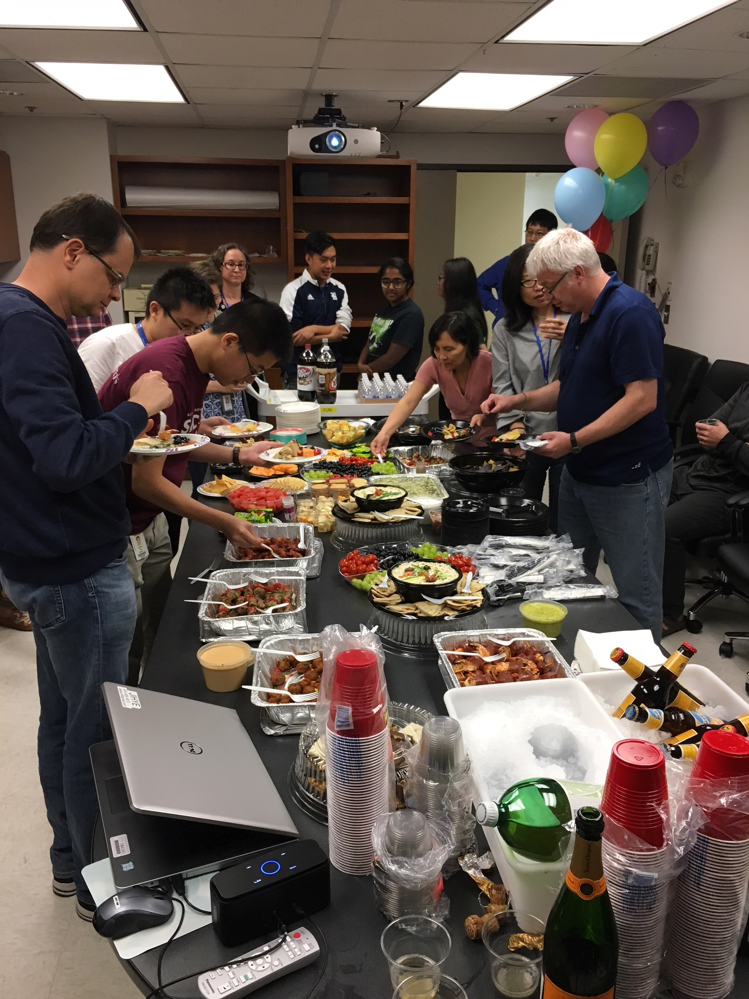 Lab Opening Lunch - May 2018
