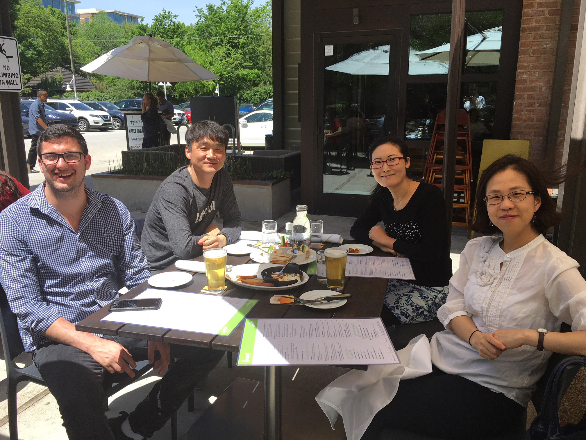 Lunch at Hungry at April 2018