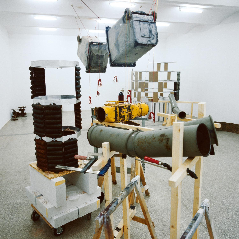 Flour Bomb Werkstatt, as installed at Secession, Vienna