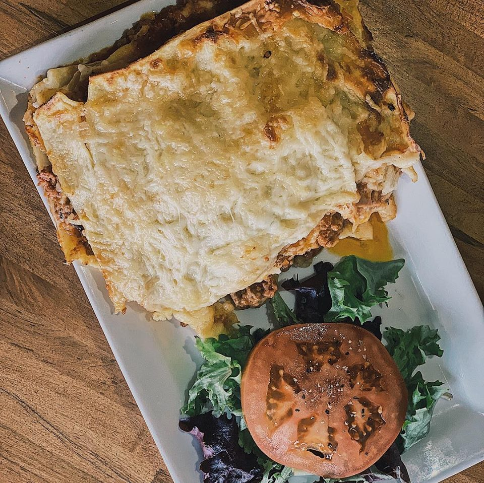 """Every Tuesday Special """"PASTICHO"""" - it's a lasagna on steroids :-)"""
