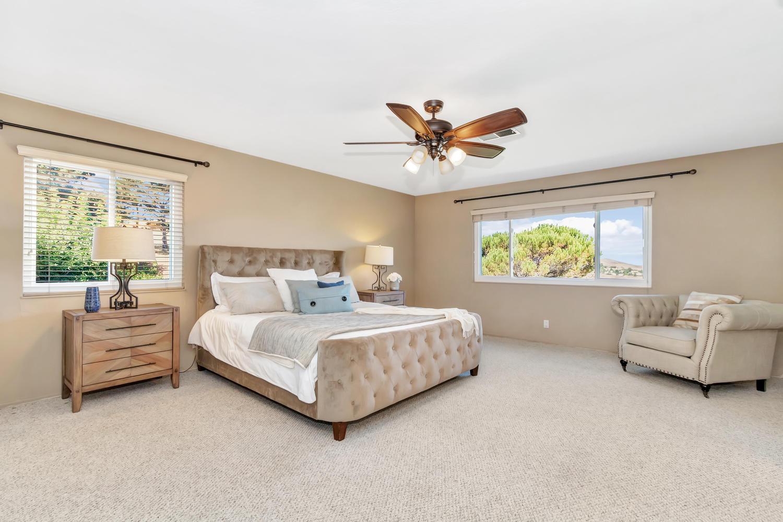 The Master Suite features bonus room, walk-in closet & gorgeous views!