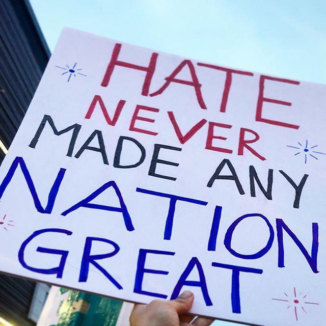 First protest #dumptrump . . . . #liciadee365 #impeachtrump #wedeservebetter #notinmystate #notmypresident #lovenothate #humanitydeservesbetter #makeamericaloveagain