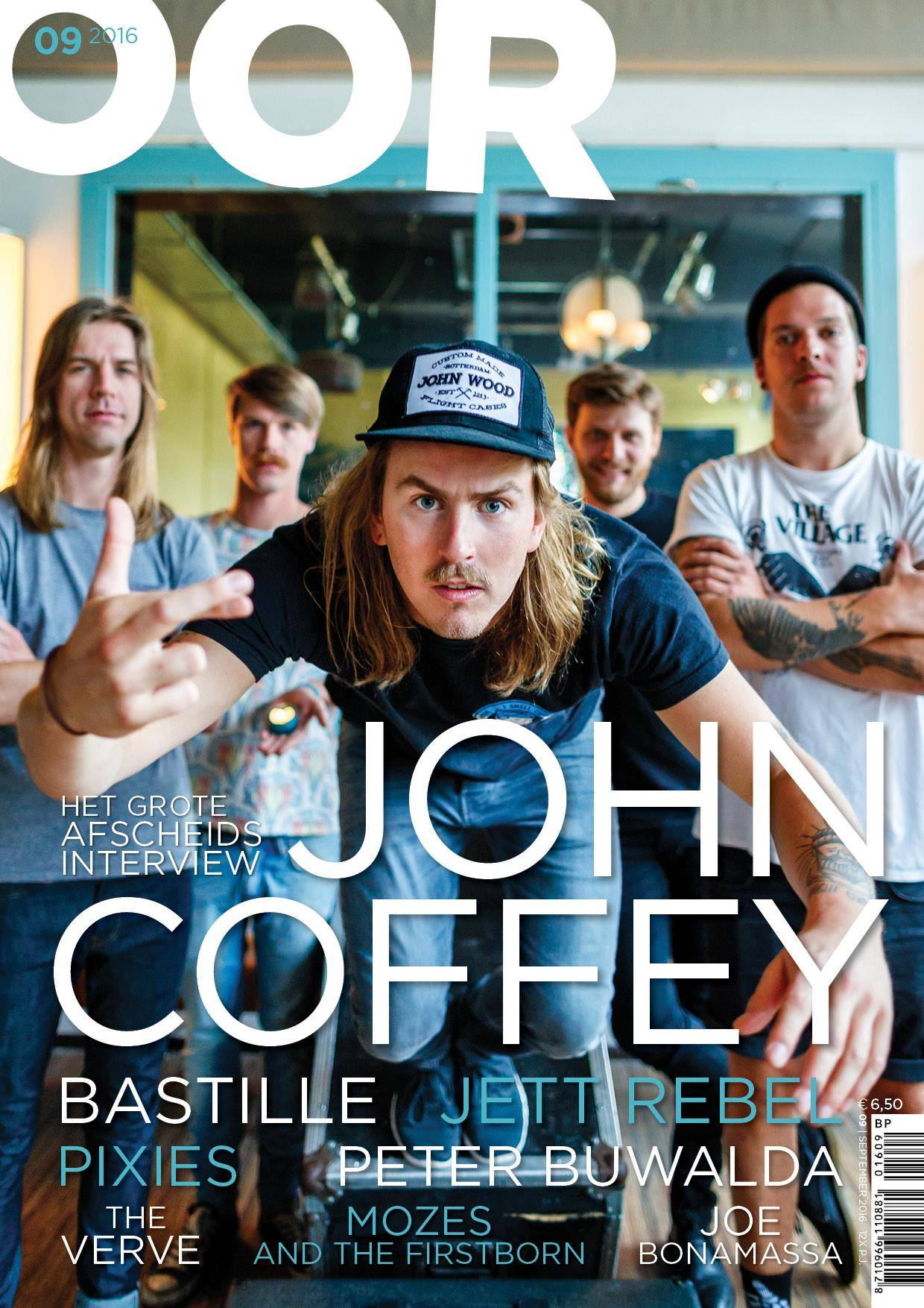 John Coffey cover OOR magazine
