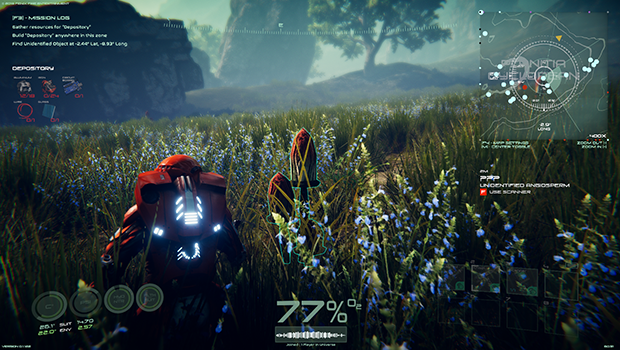INTERACTIONS AND SCANNING SYSTEM - Get more scientific as you discover each strange new world.