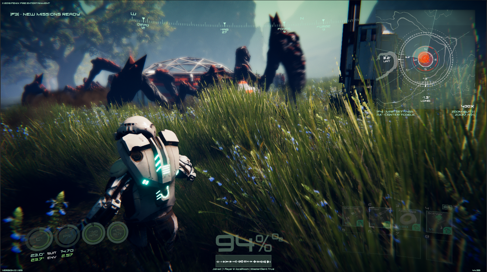 New Creature AI - Creatures can now See, Smell and Hear you and anything you have in your base.