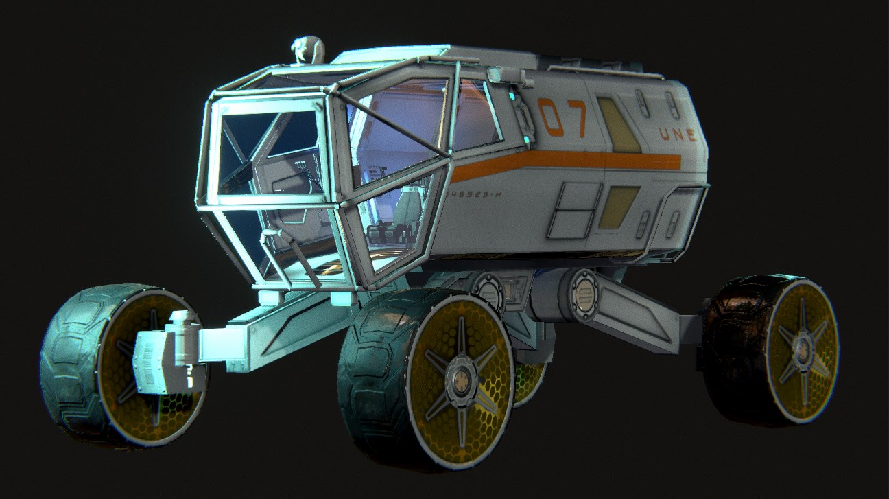 New Rover Vehicle. We need a name for this guy! Send us an idea over on Facebook!