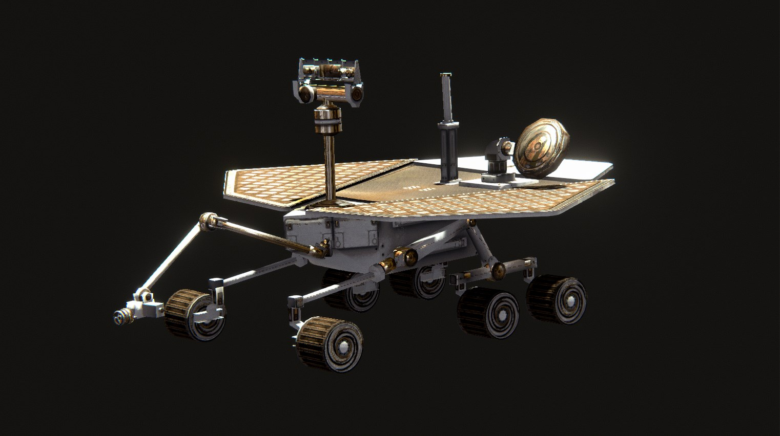 Explorer Drone - These workhorses need very little power thanks to their on board solar panels, allowing them to continuously roam and report. They're also great at mining, repairing, and some digging.