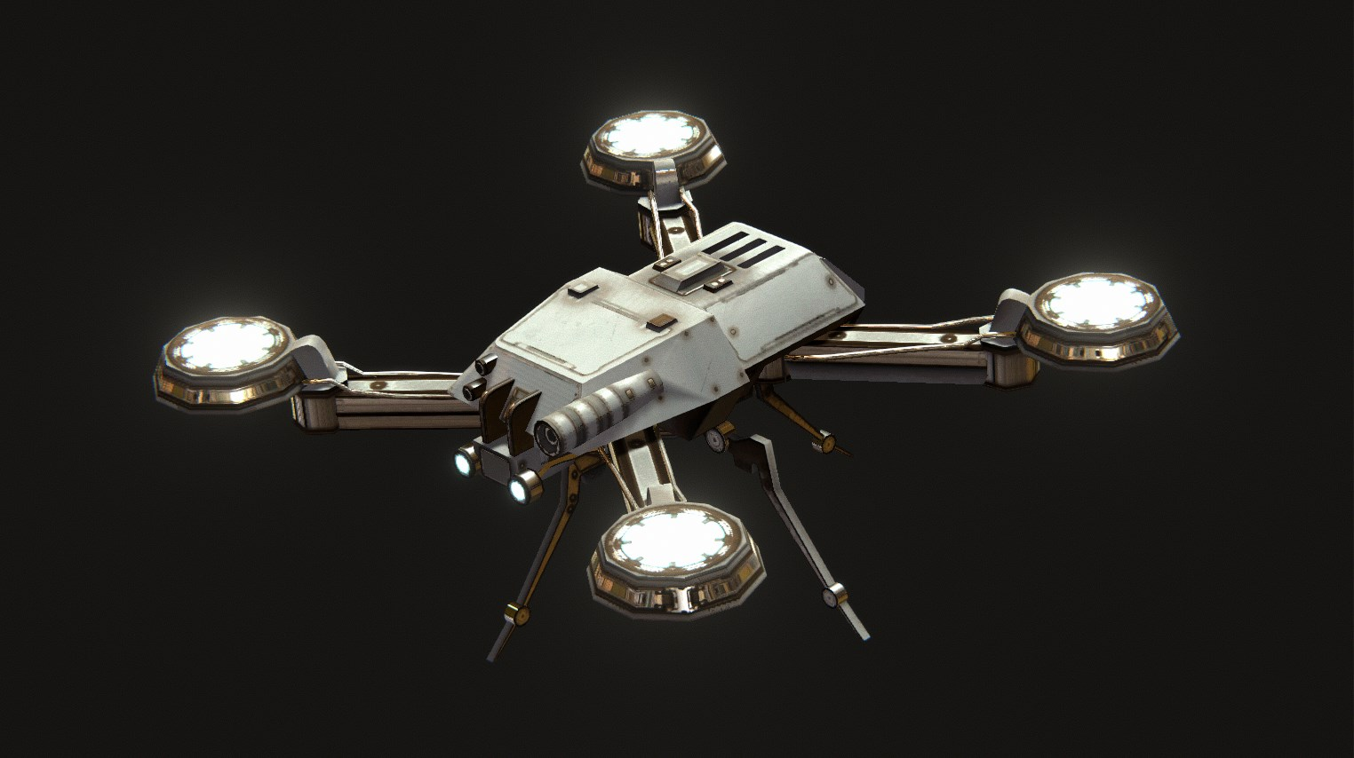"""Scout Drone - Perfect for discovering new areas and alien reconnaissance, the Scout Drone will allow for player override control, allowing you to """"see"""" through its lens."""