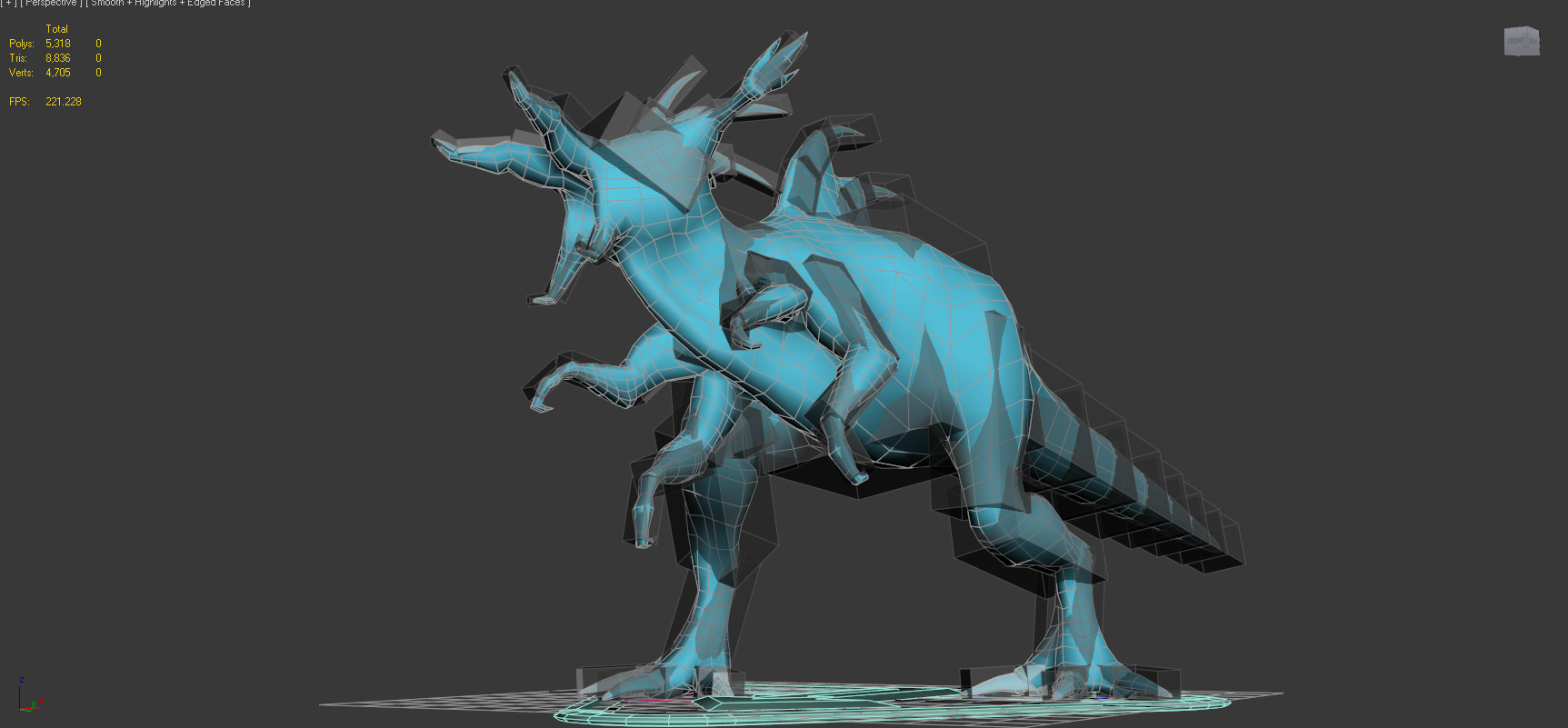 Added 3/22/19  - New creatures being animated and added.