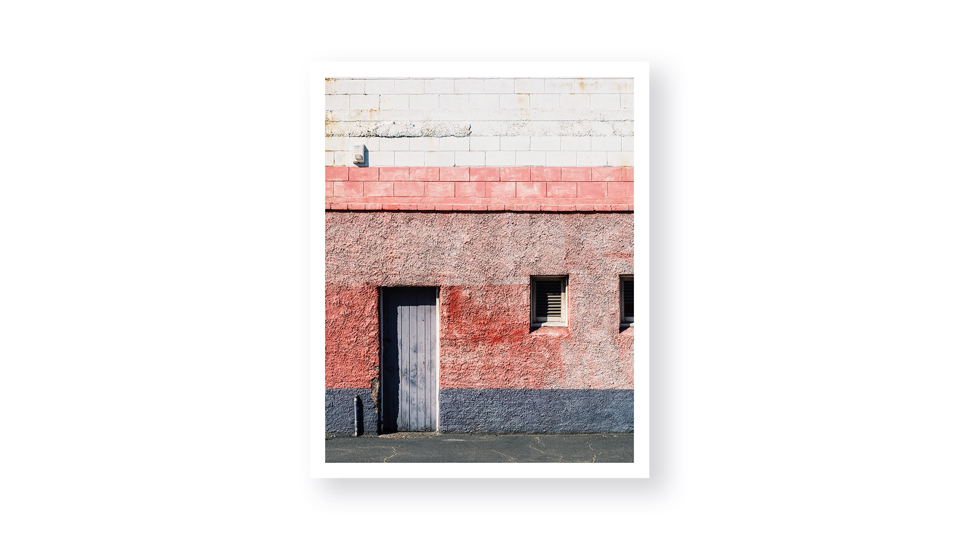 A photo series portraying the grunge and texture of various walls in New Zealand. A study in texture and balance