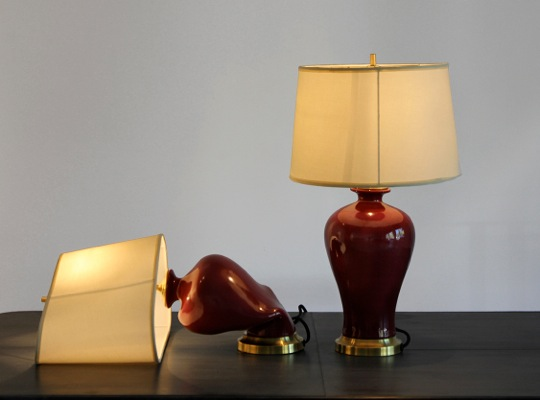 Beth Campbell, Lamps, 2011, 24 x 16 x 63 inches