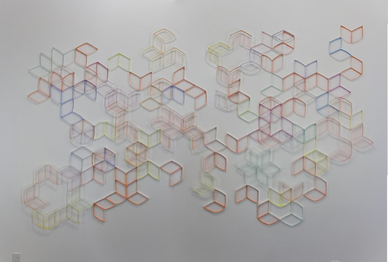Modular Wall Installation: Hexagon (Open)