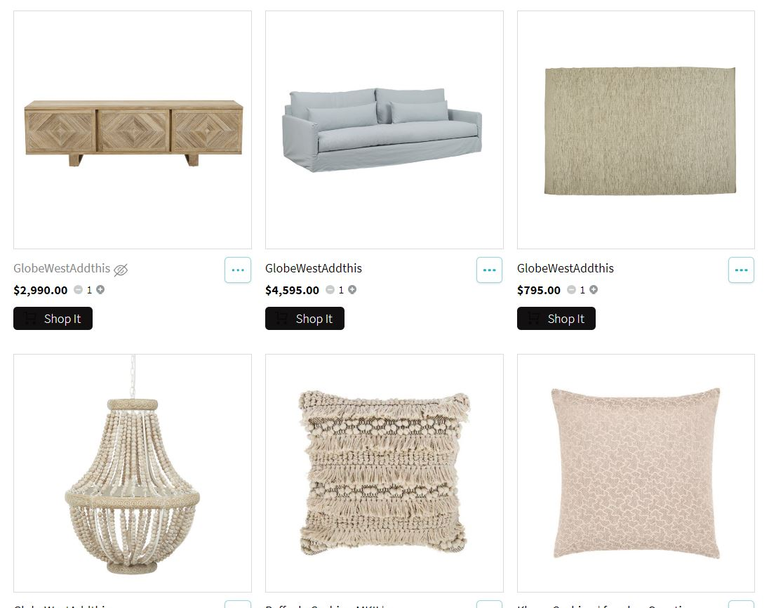 Interactive Shopping List