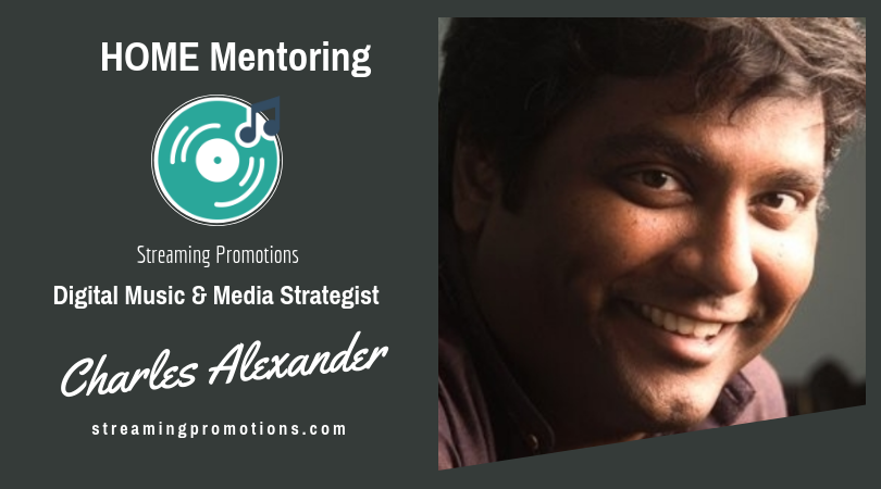 HOME Mentoring with Charles Alexander  Wednesday, 9/5  1:30 - 2:00 pm & 2:00 -2:30 pm - BOTH BOOKED    Wednesday, 9/19 1:30 -   2:00 pm & 2:00 -2:30 pm - BOTH BOOKED    Thursday, 9/20   1:00 pm - 1:30 pm-BOOKED  &  1:30 pm - 2:00 pm    Friday, 9/21 10:00 - 10:30 am & 10:30 am - 11:00 am   Email Trina@helpingMusic.org to reserve your spot