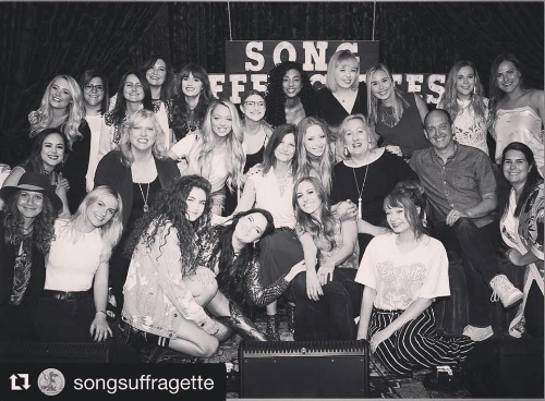 Song Suffragettes Nashville Michelle Pereira
