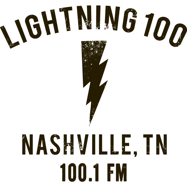 Lightning 100 - Nashville's Independent Radio Station. Supports local bands and produces Live on The Green.