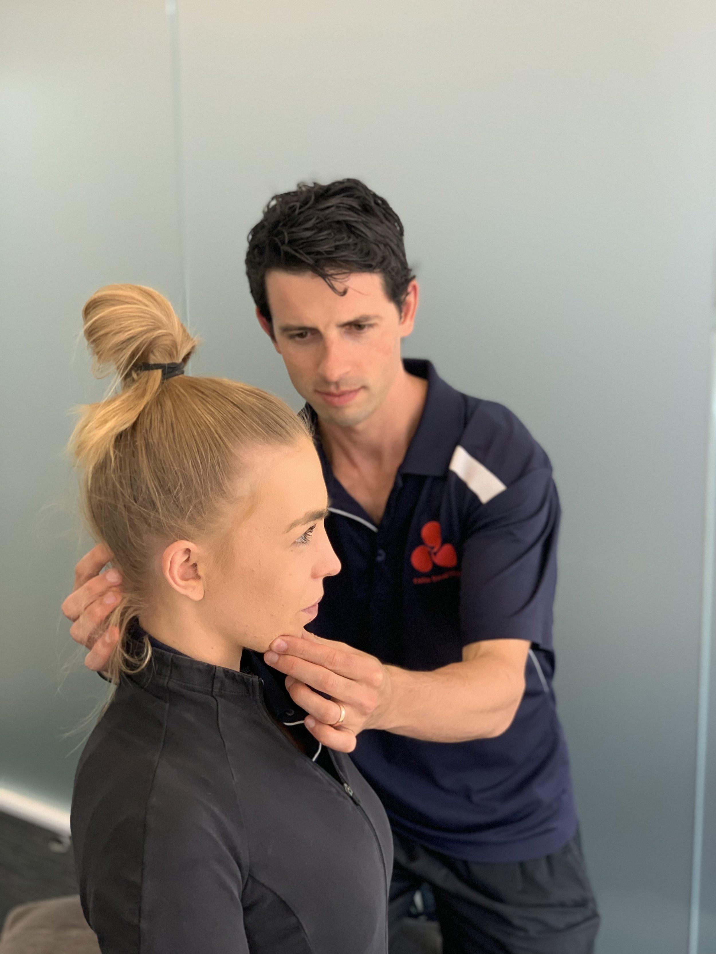 Postural ergonomic assessment for neck pain.