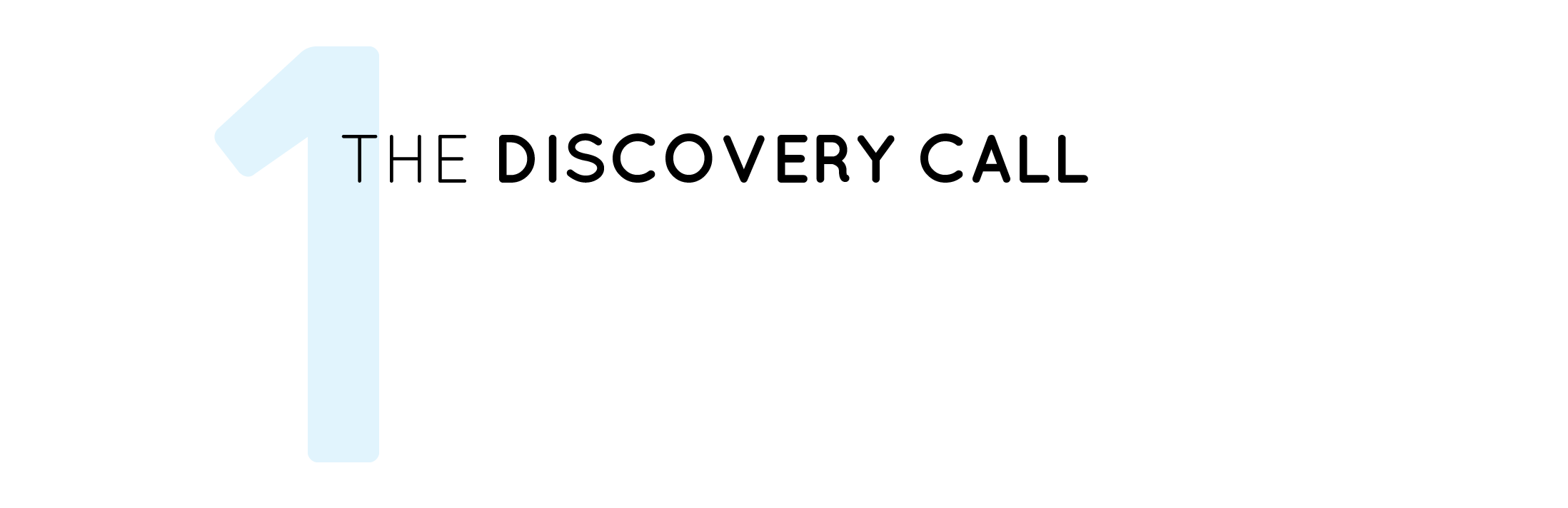 20 min. phone call - We'll discuss your needs and goals answering any questions you might have while I explain my process.