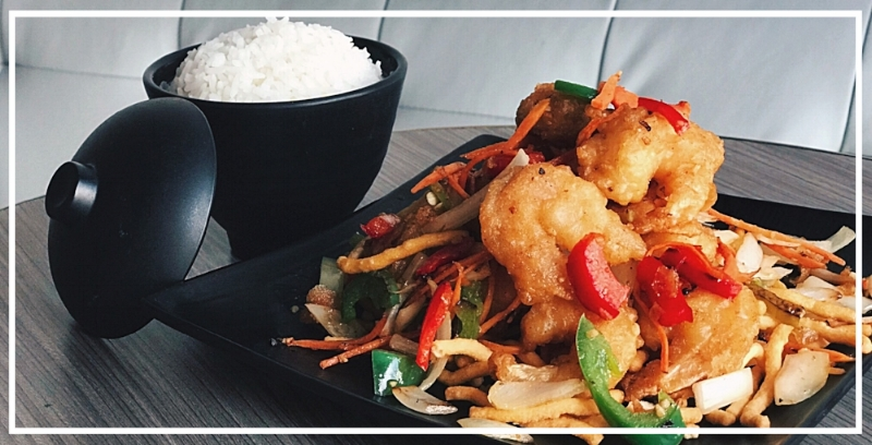 Salt + Pepper Shrimp
