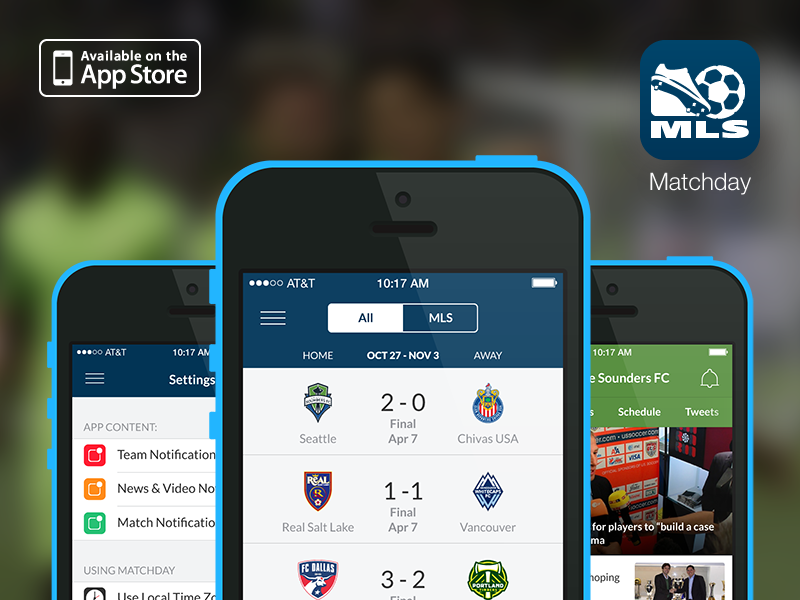 New screens, new hierarchy - Bringing matchday scores to the forefront and adding personal preferences & notifications were some of the new aspects of the applications.