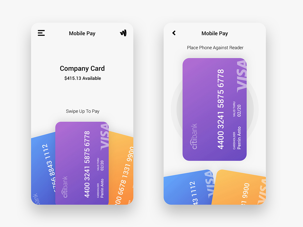 Daily UI Challenge :  Building interfaces for 100 days (in progress!)