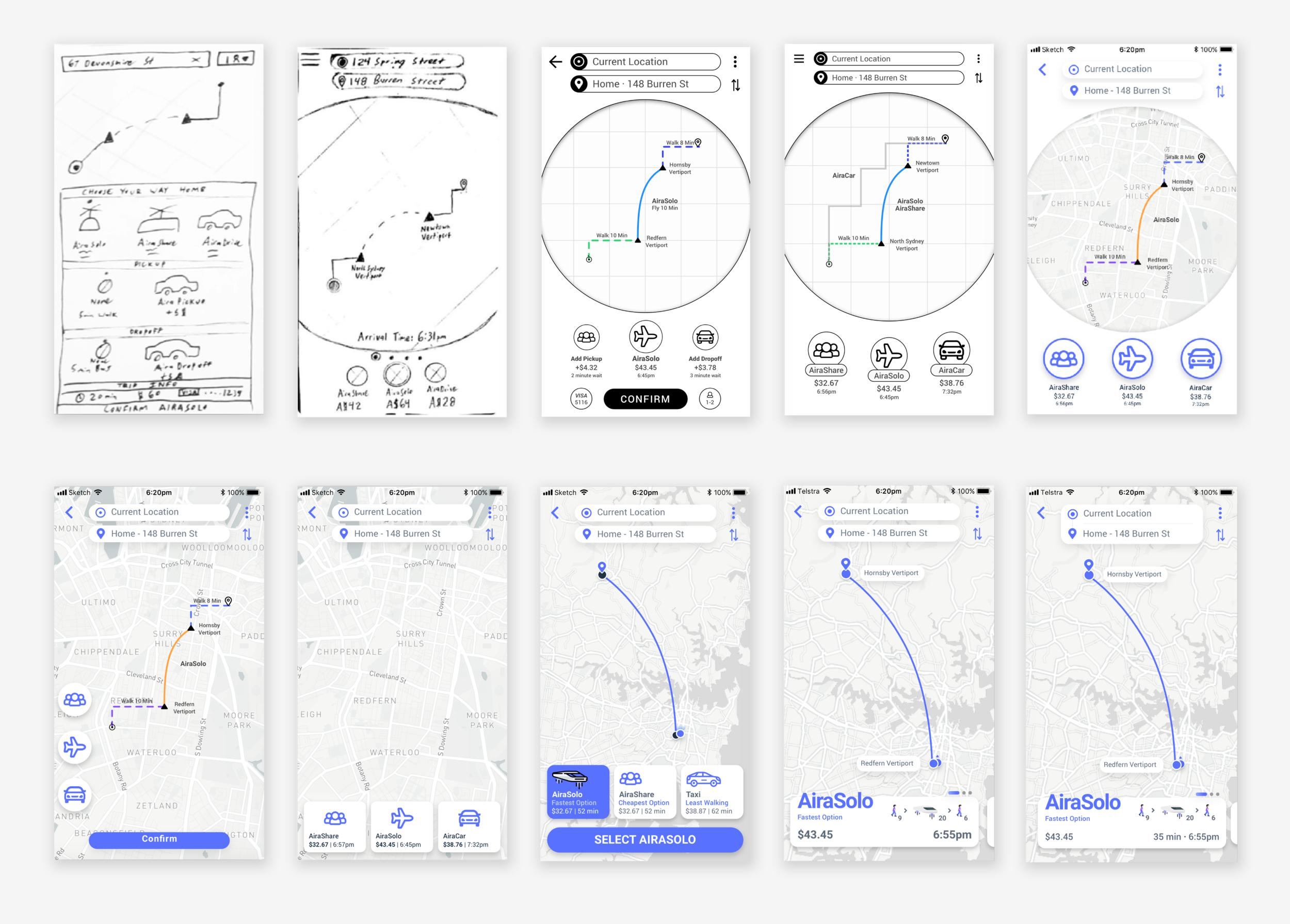 Aira - Imagining the future of multi-modal air transit