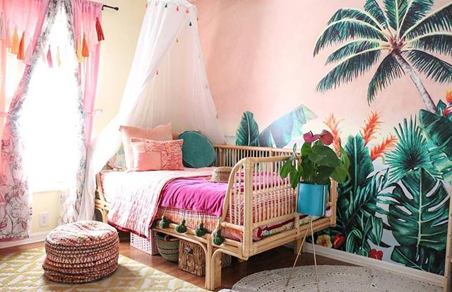 Happy Monday friends!! Starting the week off by sharing one of my favorite gals on instagram, my sweet friend @mango_manor! I've been following Kelli foreverrrrr and she has such a fun and colorful home filled with so many treasures! You all know I'm big on kids rooms, and this space that she created for her daughter is one of my all time fav kids spaces and I just had to share it! Definitely a mama to follow!!!! . . . . . . . . . . . . . .  #kidroomdecor #girlroom #nursery #nurseryinspo #bohonursery #mykidsdigs #kidroom #finditstyleit #showmeyourboho #bohoismyjam #apartmenttherapy #creativefamilyspaces #sodomino #designsponge #homeinspo #interiordesign #interiorinspo #bohohome #howyouhome #howyouthrift #homemagic #pocketofmyhome #cornerofmyhome #myhousebeautiful #hgtvhome #myeclecticmix #myeclectichome #urbanjunglebloggers